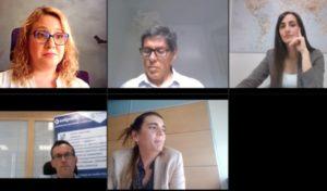 Santiago Gómez, Mónica Comas, Mónica Jiménez y Tania Sancho